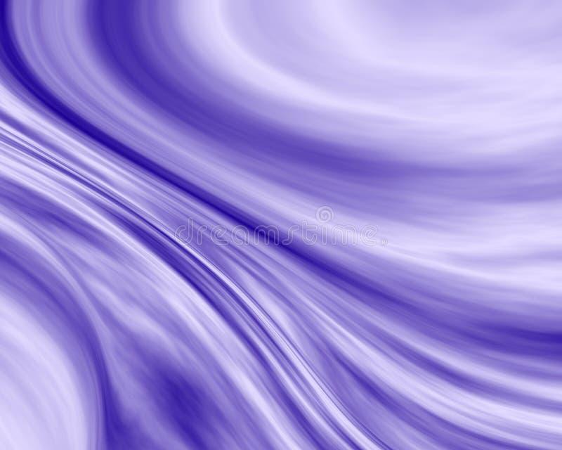 Fluxo azul ilustração stock