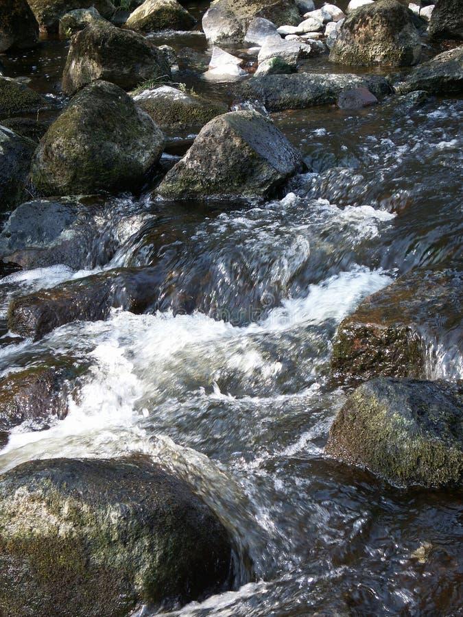 Fluxo da água imagem de stock