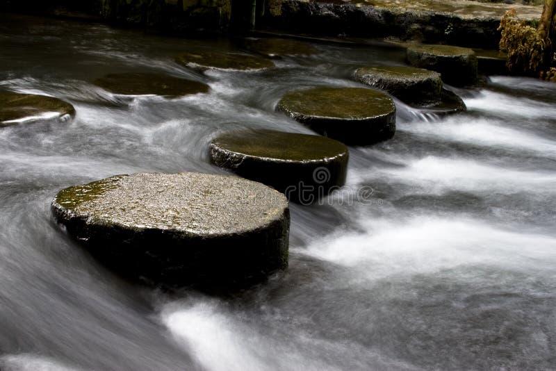 Fluxo da água imagens de stock
