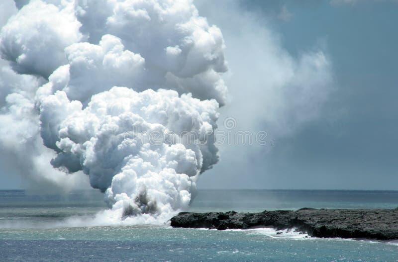 Fluxo de lava imagem de stock royalty free