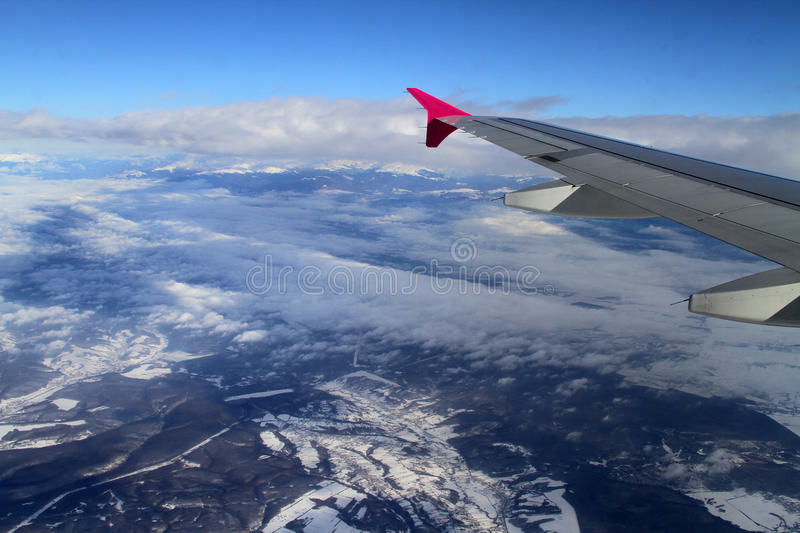 Download Fly above mountains stock image. Image of altitude, blue - 37760779