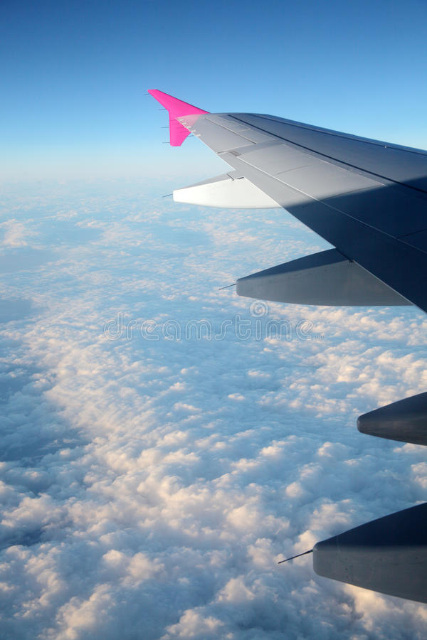 Fly Above Sky Stock Photo
