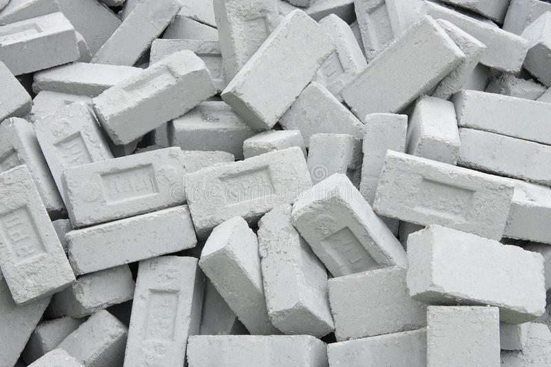 Download Fly Ash Eco Friendly Bricks Controls Pollution Stock Photo - Image: 16043176