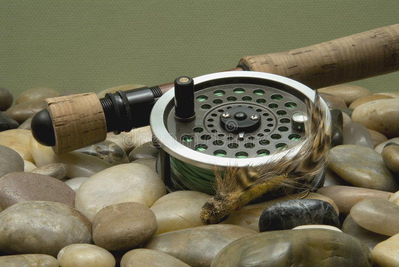 Download Fly Fishing stock image. Image of fishhook, popping, reel - 1936971