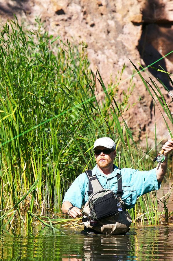 Download Fly Fishing stock photo. Image of activity, enjoyment - 5057950