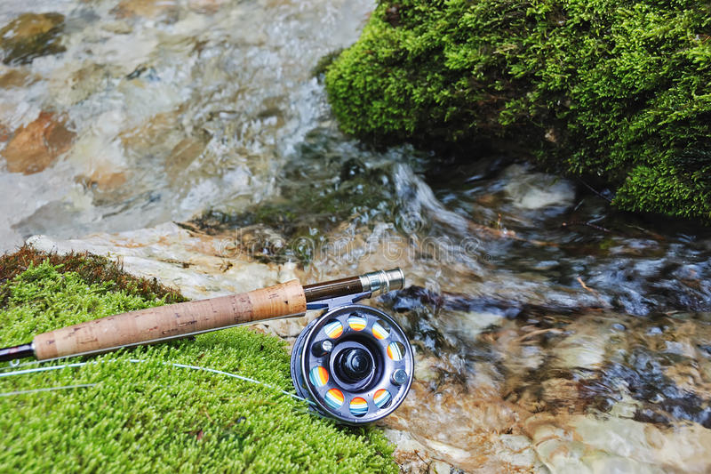 Download Fly fishing gear stock photo. Image of close, tackle - 13078020
