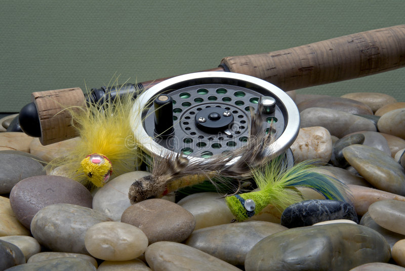 Download Fly Fishing III stock image. Image of reel, water, popping - 1936925