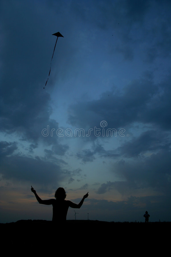 Download Fly A Kite Stock Photography - Image: 184192