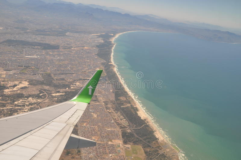 Download Fly Over Cape Town Coastline South Africa Stock Image - Image: 27496857