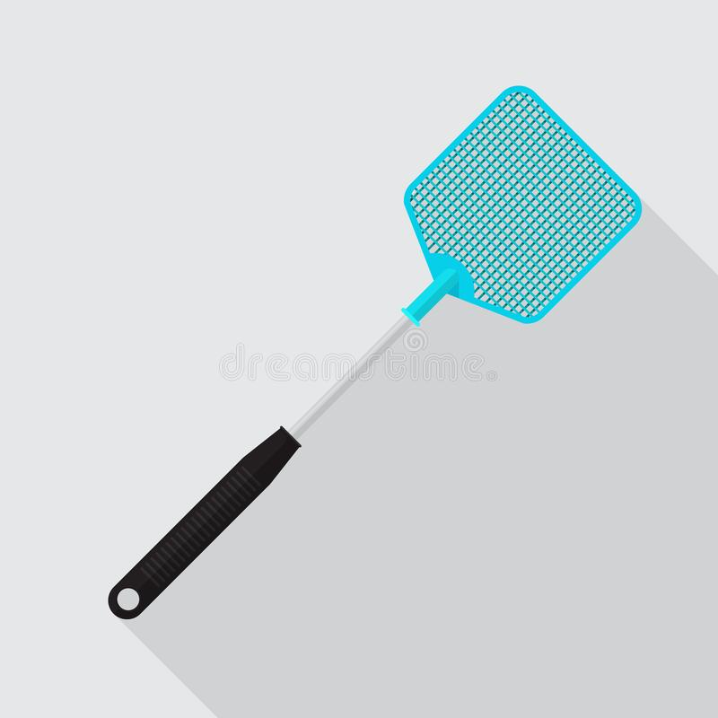 Fly swatter icon. stock illustration