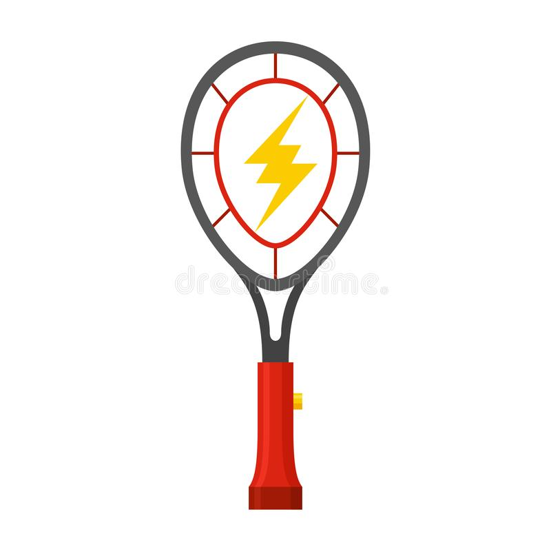 Fly swatter icon, implement for swatting insects vector illustration