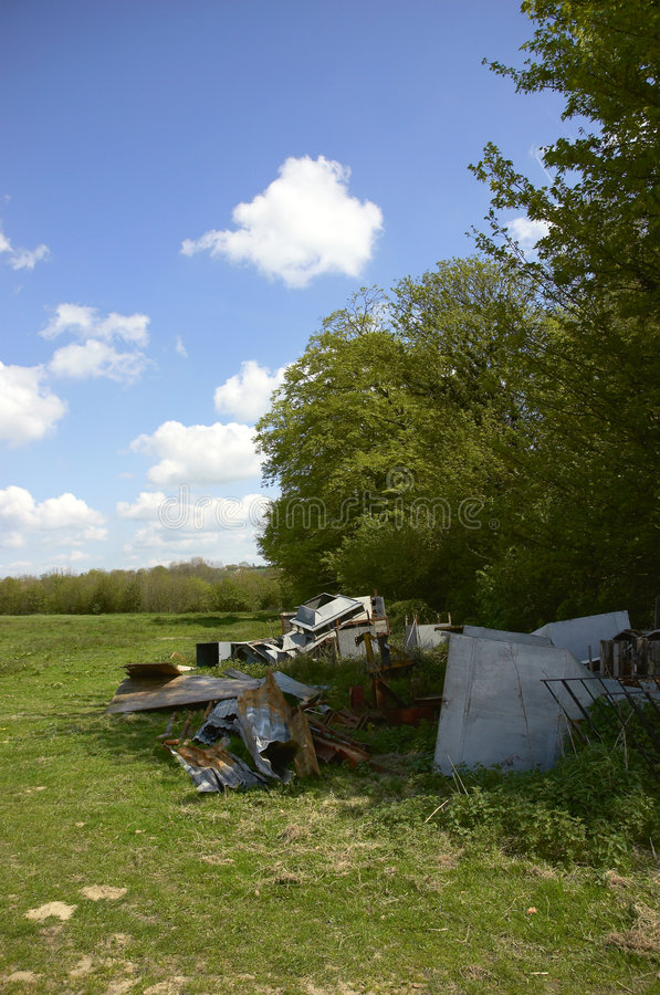Fly-tipping stock photos