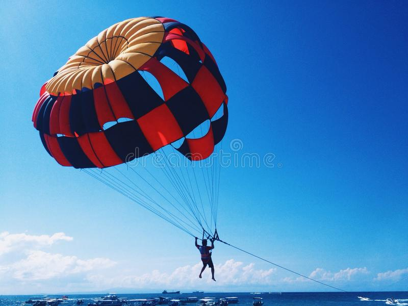 Flyaway royalty free stock photography