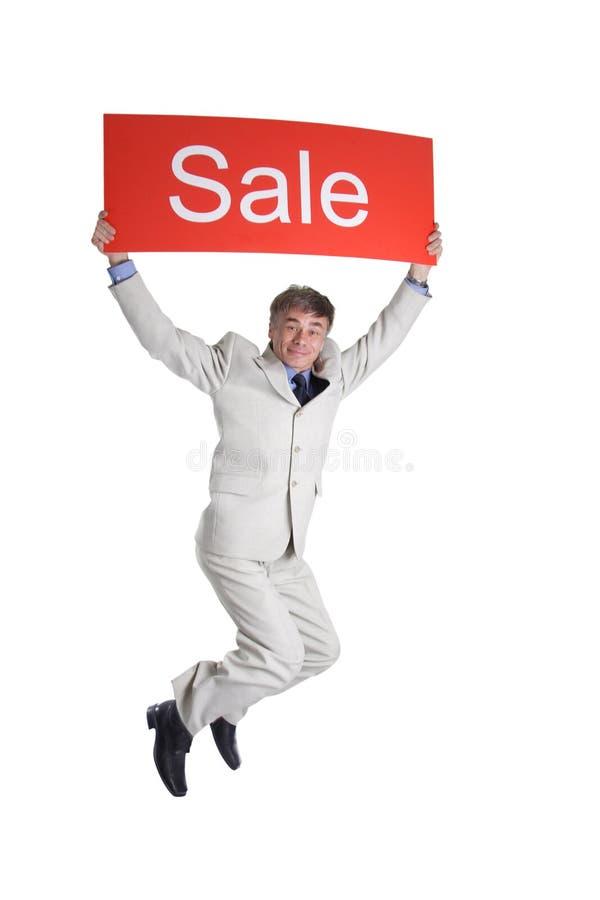 Flyaway sale stock image