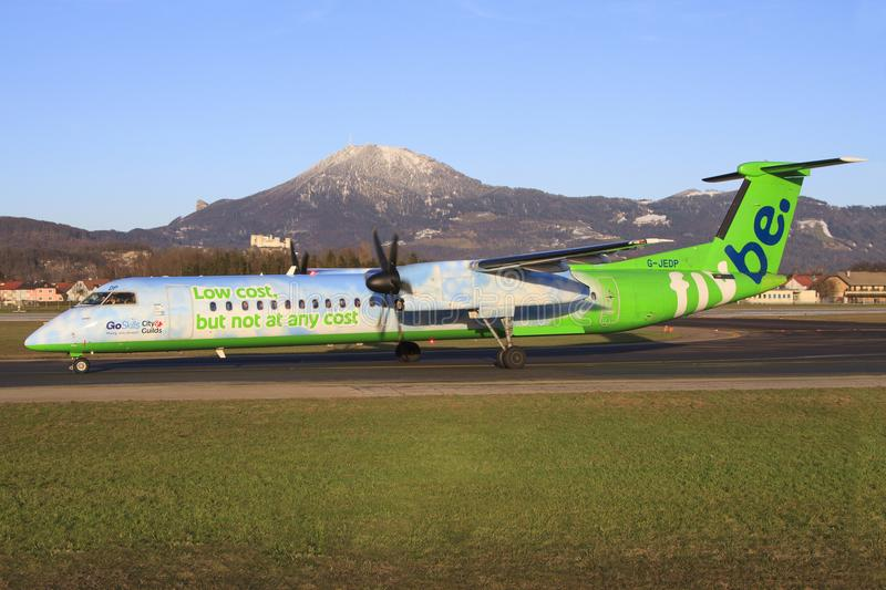 Flybe Dash 8 stock photography