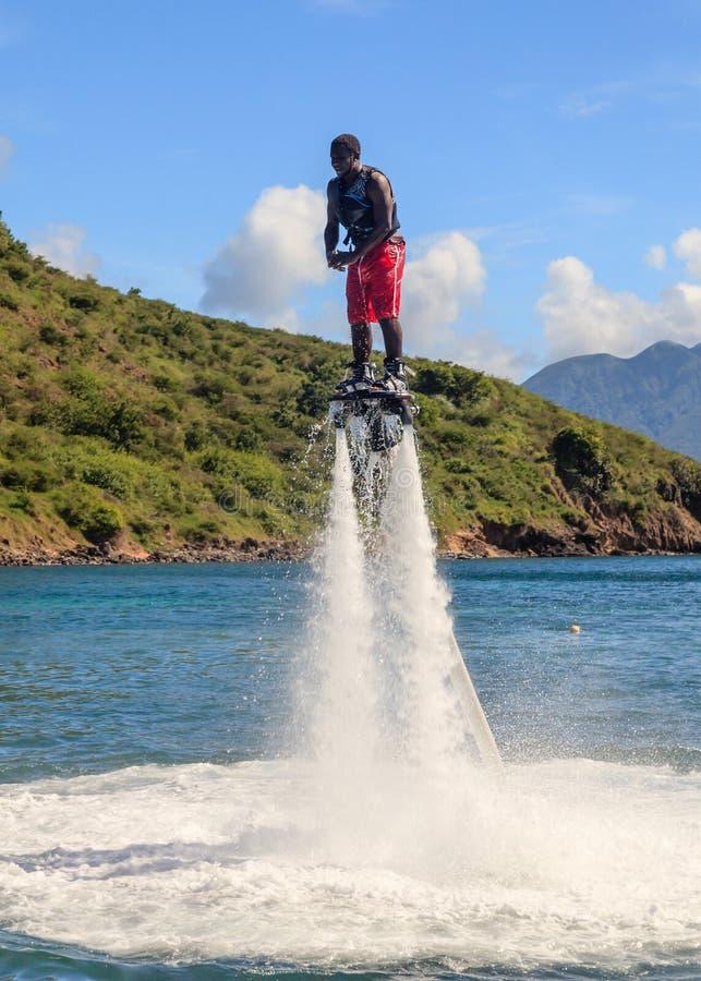 Flyboarding стоковое фото rf