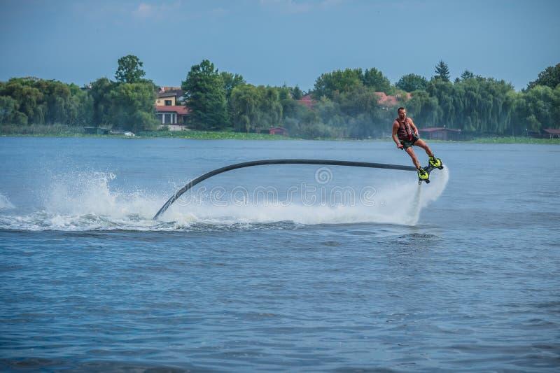 Flyboarding Flyboard 库存图片
