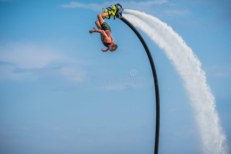 Flyboarding Flyboard fotos de stock
