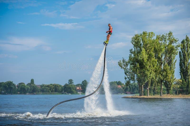 Flyboarding Flyboard стоковые фотографии rf