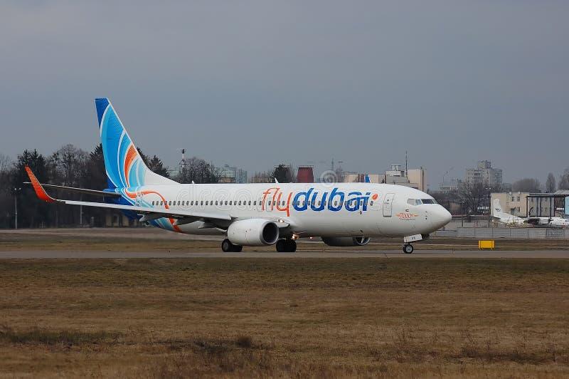 Flydubai Boeing 737 (7000. Boeing 737) stockbild