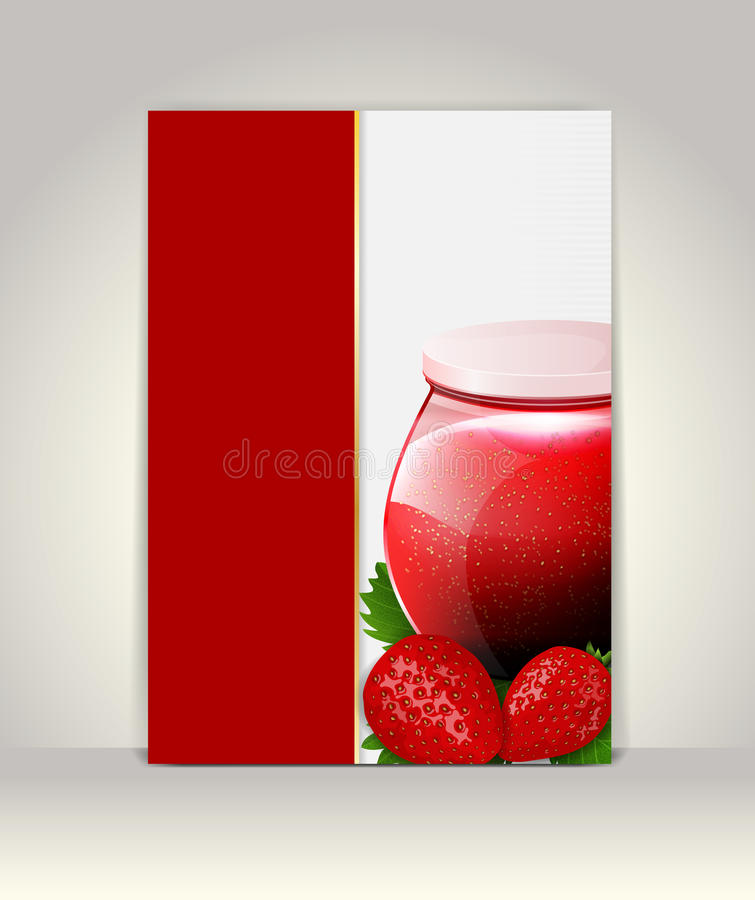 Flyer Or Brochure Template Stock Illustration Illustration Of