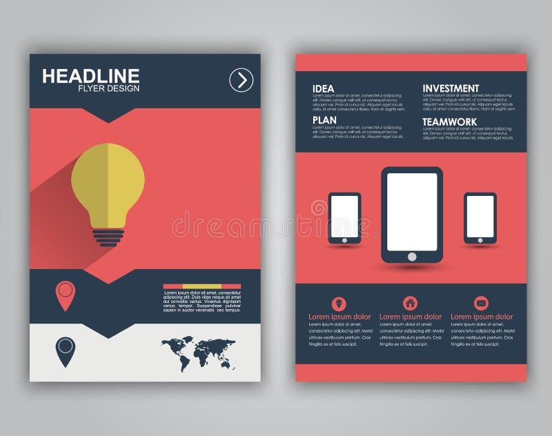 Flyer Design For Advertising Stock Vector - Illustration of logo ...