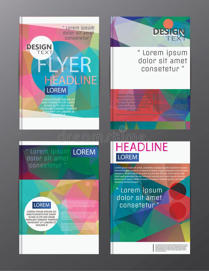 Flyer design business annual report brochure template. cover presentation abstract background for business, magazines,. Eps.10 royalty free illustration