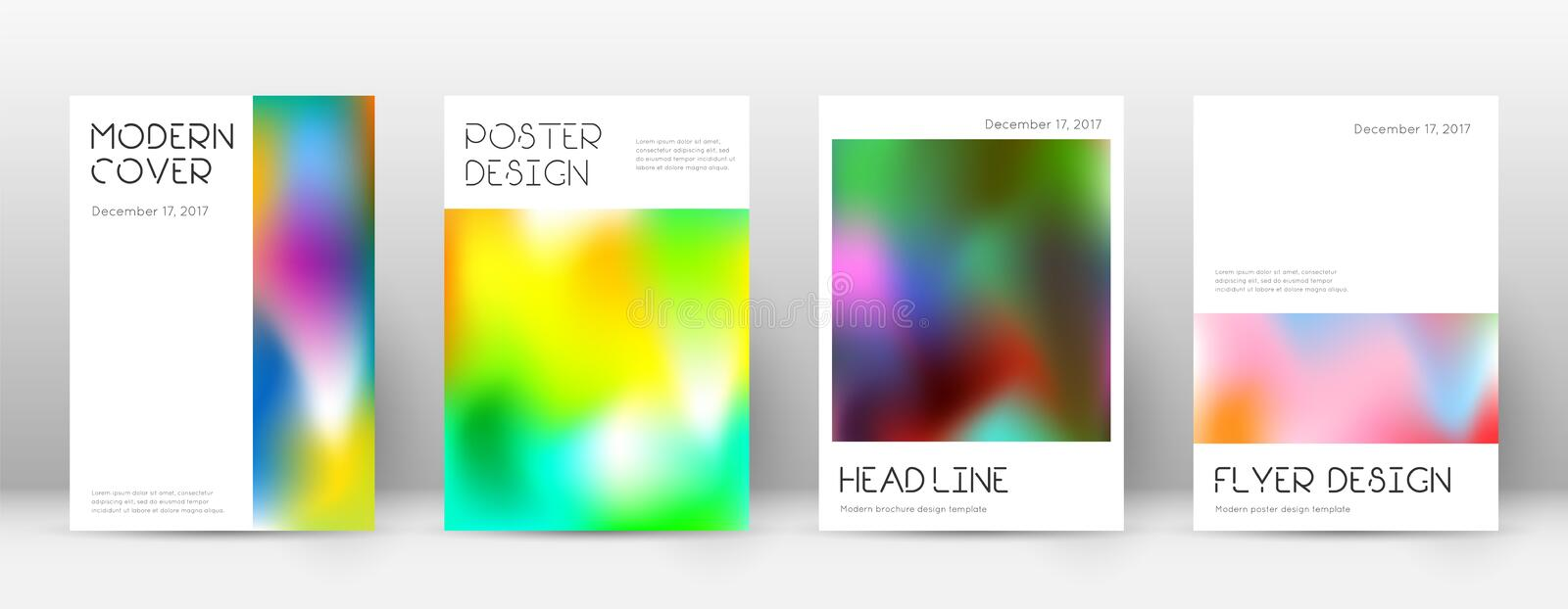 Flyer layout. Minimal exquisite template for Broch. Ure, Annual Report, Magazine, Poster, Corporate Presentation, Portfolio, Flyer. Appealing colorful cover page vector illustration