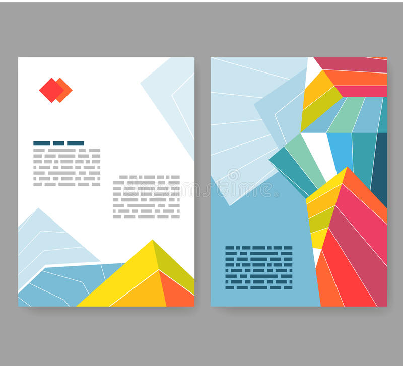 Flyer leaflet booklet layout editable design template for Editable brochure templates