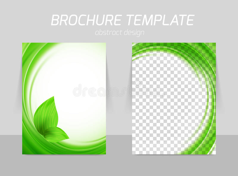 Flyer Template Back And Front Design Vector Image 44286775 – Green Flyer Template