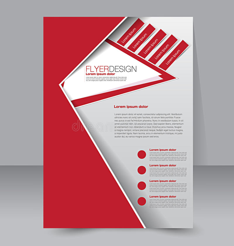 Flyer template. Brochure design. A4 business cover. vector illustration