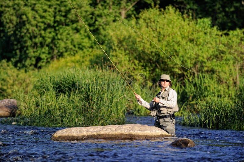 Download Flyfishing stock photo. Image of stream, river, flyfishing - 10690012