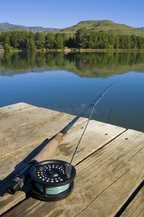 Flyfishing stockfoto