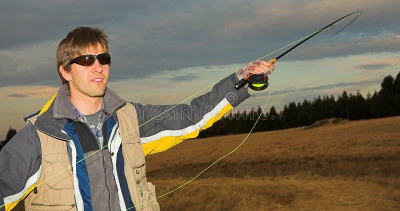 Flyfishing #5 lizenzfreie stockbilder