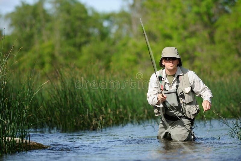 Flyfishing obrazy royalty free