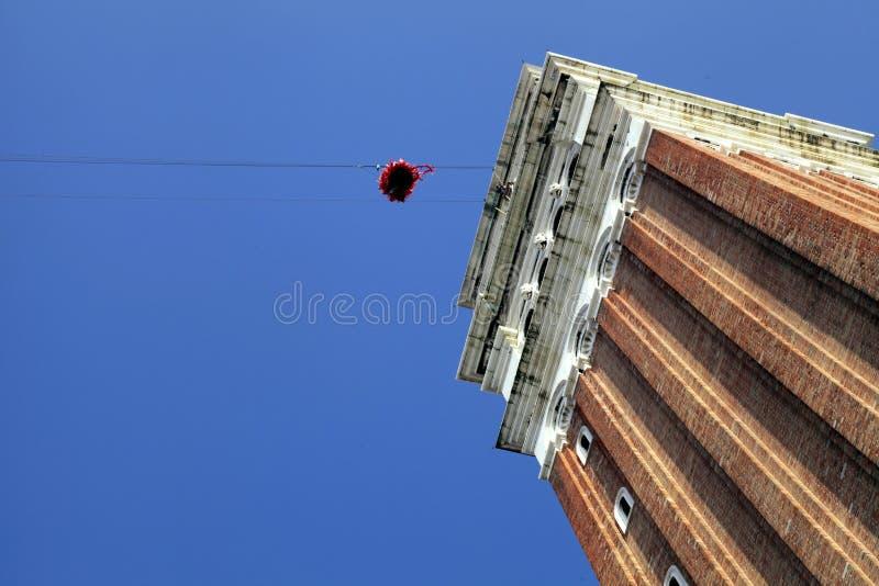 """""""Flyg av ängeln"""", Venedig, Italien arkivbilder"""