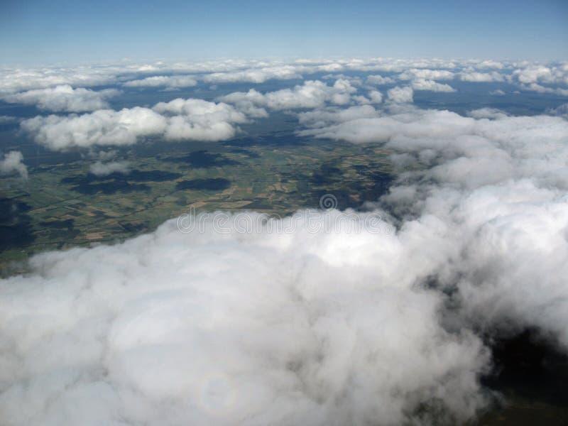 flyg- bild royaltyfri fotografi