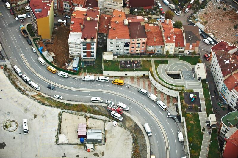 flyg- istanbul sikt gammal stad royaltyfri foto