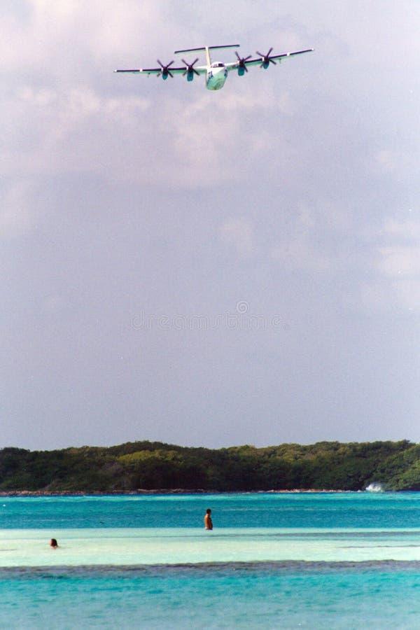 flyg los över roques arkivfoto