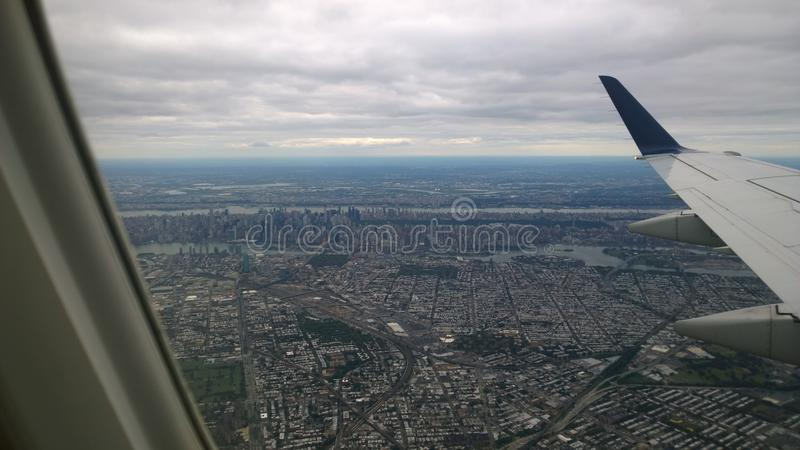 flyg- ny sikt york arkivbilder