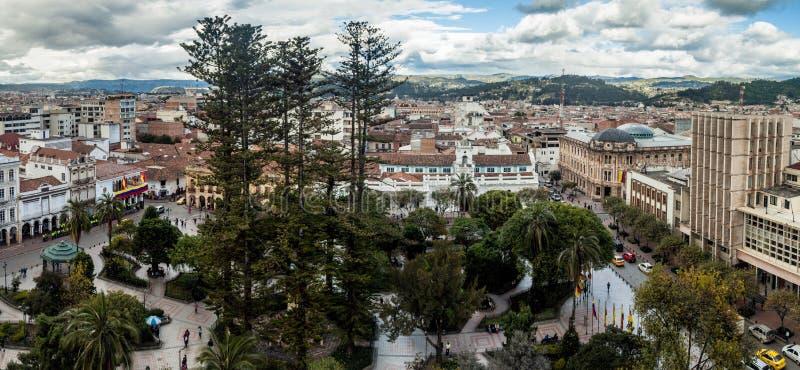 Flyg- sikt av Cuenca fotografering för bildbyråer
