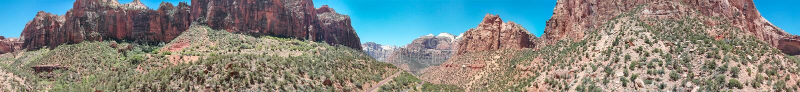 Flyg- sikt av kanjonen i Utah, Förenta staterna arkivbilder
