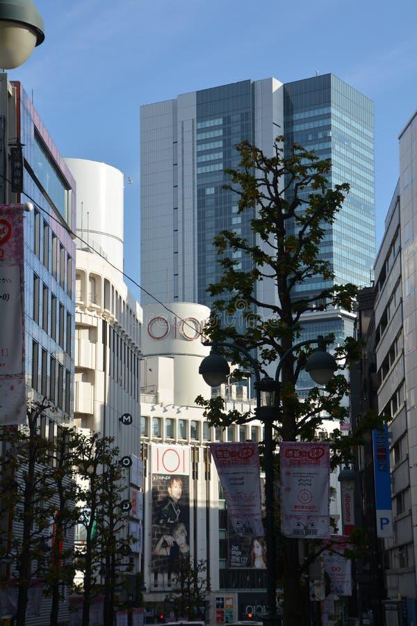 Flyg- sikt från den Tokyo staden japan arkivfoton