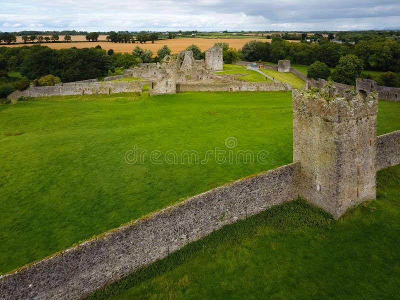 flyg- sikt Kells priorskloster ståndsmässiga Kilkenny ireland royaltyfria bilder