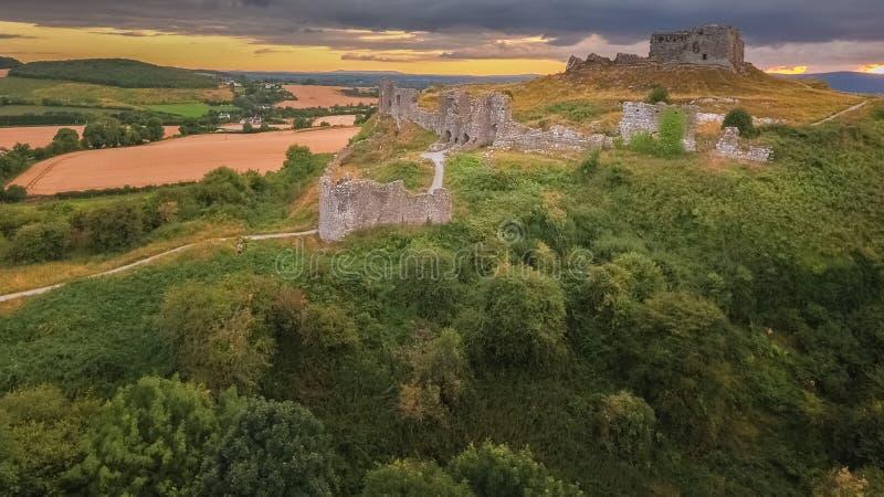 flyg- sikt Vagga av Dunamase Portlaoise ireland arkivfoto