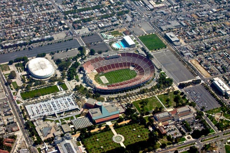 flyg- stadionsikt arkivfoton