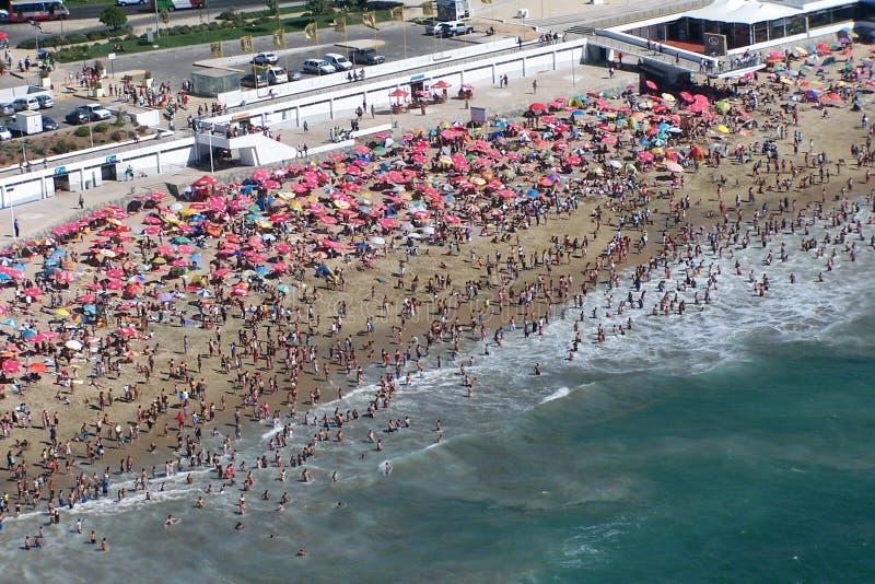 flyg- strandsikt arkivbilder