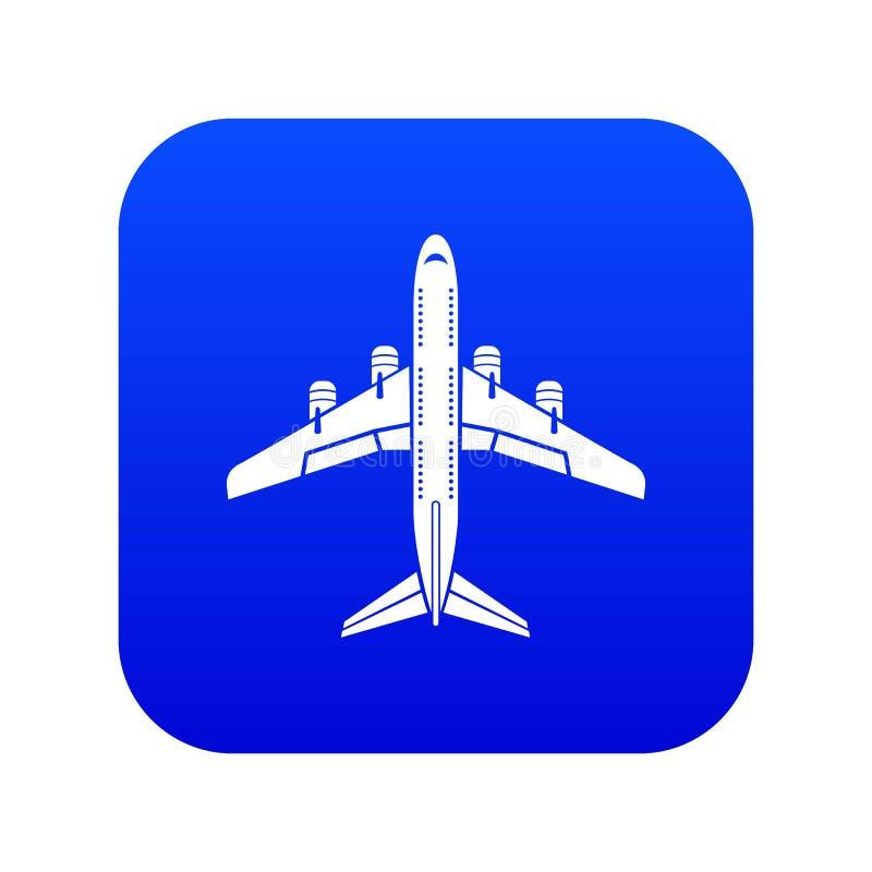 Flyga den plana symbolen, enkel stil stock illustrationer