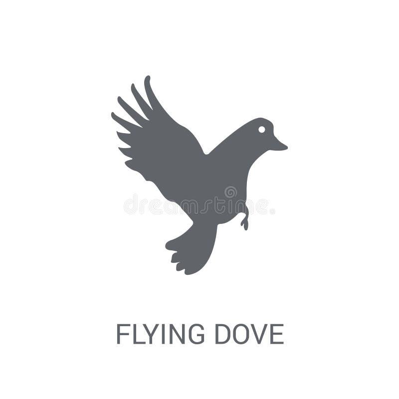 Flyga duvasymbolen  vektor illustrationer