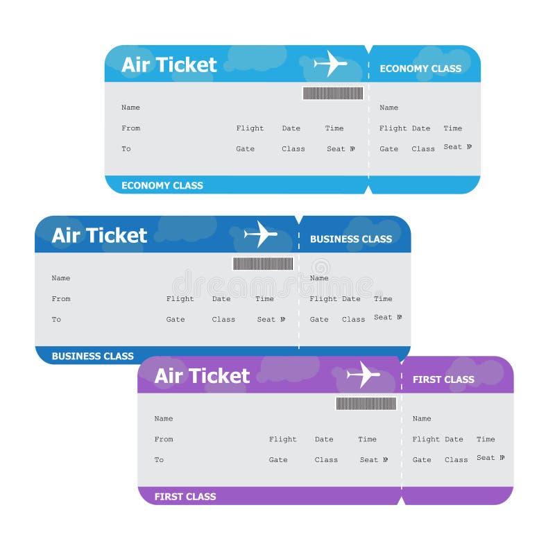 Flygbiljetter som isoleras på vit bakgrund royaltyfria foton